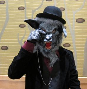 Even a monocled, gentleman werewolf was not safe from our pursuit.