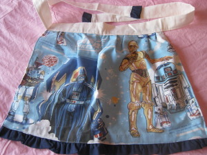 The Empire Strikes Back Apron (Take 2) courtesy of Meg from The Force is Strong with this One.