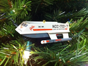 Check out this sweet Galileo ornament! Festive! (Photo by Sarah Grant)