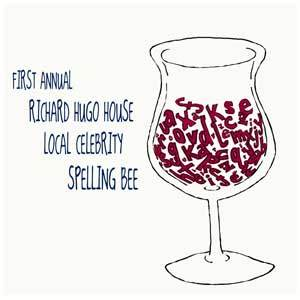 1st Annual Richard Hugo House Local Celebrity Spelling Bee Logo