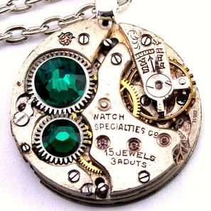Steampunk Necklace from LondonProductions, located in Seattle