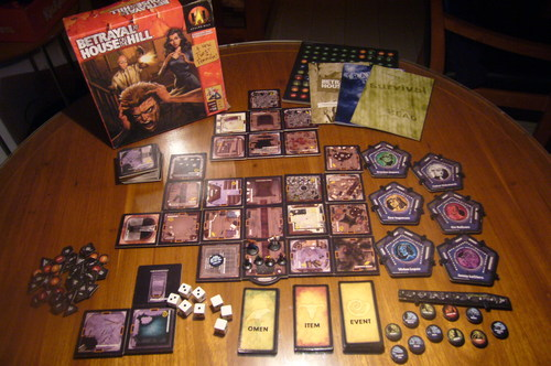 Games like Betrayal At House On The Hill - TasteDive