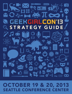 GeekGirlCon '13 Strategy Guide