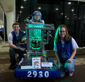 FIRST Robotics contestants TaterBotz at GeekGirlCon '13.