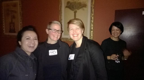 L-R: Jessica Shea, Marta Beck, Holly Barbacovi and Kiki Wolfkill, all of 343 industries. Image courtesy of Jason Pankow.