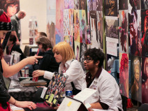 Artist Alley at GeekGirlCon '14 Image source: GeekGirlCon Flickr