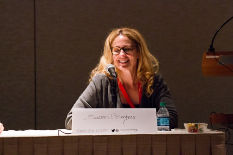 Eisenberg at GeekGirlCon 14