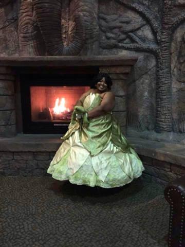 Tiana cosplay. Photo from Briana Lawrence.