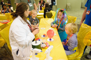 More action from the DIY Science Zone at GeekGirlCon '14 at Washington State Conference Center in Seattle, Washington, on Saturday, October 11, 2014. Source: Flickr