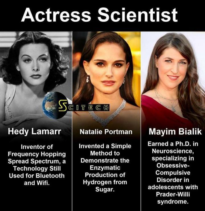 actress scientist