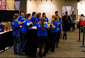 Agents at Registration of GeekGirlCon '14