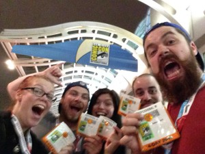 Cosmic Joke and friends at San Diego Comic Con!