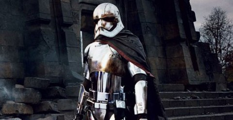 Gwendoline Christie as Captain Phasma in the upcoming Star Wars: The Force Awakens
