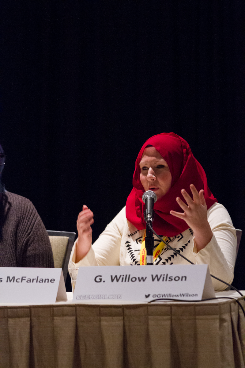 G Willow Wilson, Creator And Writer Of The New Ms Marvel, Featuring  Kamala Khan (a Muslim Pakistaniamerican Teenage Girl Living In New Jersey)  Skipped