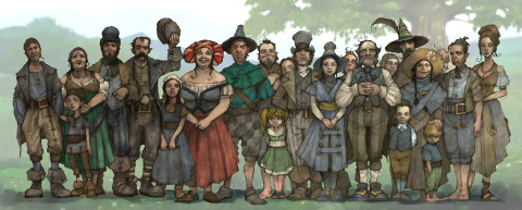 And not a brown face among them. Source: Fable.wikia.com