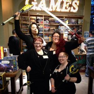 Last year's GeekGirlCon Gauntlet team! Photo: Kristine Hassell