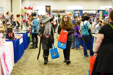 GeekGirlCon 2014 at Washington State Conference Center in Seattle, Washington, on Sunday, October 12, 2014.