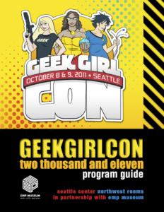 GeekGirlCon 2011 Program Guide