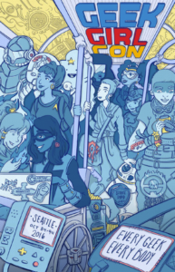 GeekGirlCon 16 Program Guide Cover