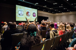 GeekGirlCon 2015 at Washington State Conference Center in Seattle, Washington. October 2015. Photo by Danny Ngan
