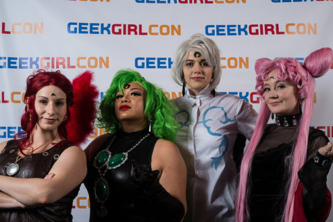 Betcha they're at the anime meetup. [Image source: GeekGirlCon flickr.]