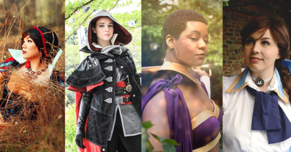 Profile photos of the GeekGirlCon cosplay judges