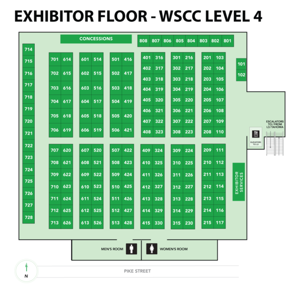 Level 4 - Exhibitor Floor