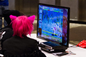 GeekGirlCon 2014 at Washington State Conference Center in Seattle, Washington. October 2014. Photo by Sayed Alamy