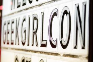 GeekGirlCon Sign