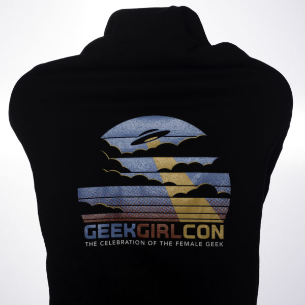 2016 GeekGirlCon Zip Up Back