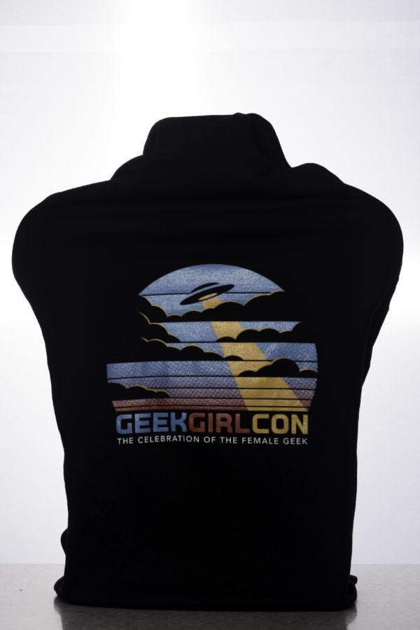 2016 GeekGirlCon Zip Up Back