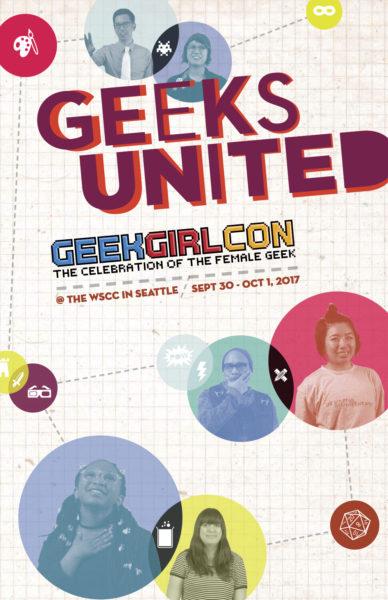 GeekGirlCon 17 Program Guide Cover