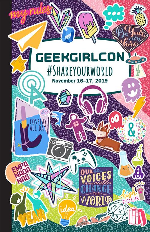 GeekGirlCon 19 Program Guide Cover